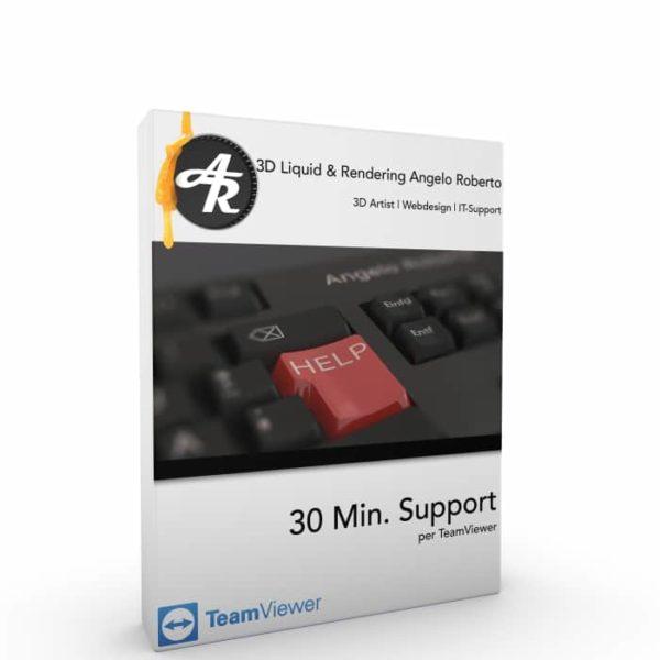 30 Min. Support per TeamViewer